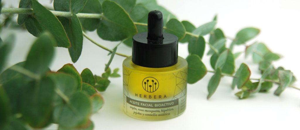 aceites facial herbera